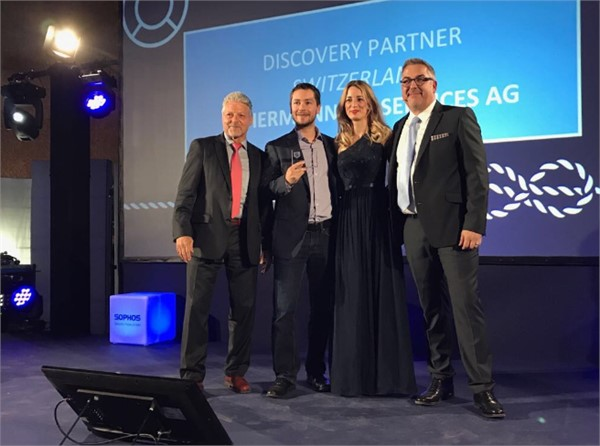 Auszeichnung Sophos | achermann ict-services ag
